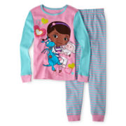Disney Doc McStuffins 2-pc. Pajamas – Girls 2-10