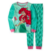 Disney Collection Ariel 2-pc Sleep Set – Girls 2-10
