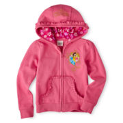 Disney Princess Fleece Jacket – Girls 2-10