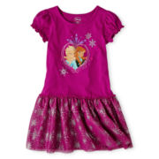 Disney Frozen Dress - Girls 2-10