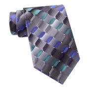 Van Heusen® Shaded Geo Silk Tie