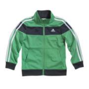 adidas® Tricot-Knit Track Jacket - Boys 2t-7x