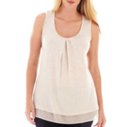 By Artisan Studded Tank Top – Plus