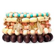 Decree® 6-pc. Stretch Bracelets