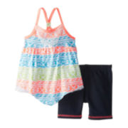 Little Lass Tank Top and Shorts Set - Toddler Girls 2t-4t