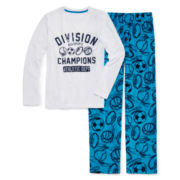 Arizona Blue Sports Pajama Set - Boys 4-20