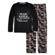 Arizona Team Santa Camo Pajama Set - Boys 4-20