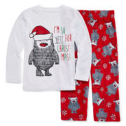 Okie Dokie® Yeti Pajama Set - Toddler Boys 2t-4t