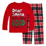 Okie Dokie® Dear Santa Pajama Set - Toddler Boys 2t-4t