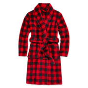 Arizona Plaid Fleece Robe - Boys 4-20