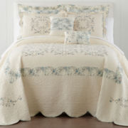 Home Expressions™ Alyson Country Floral Quilted Bedspread & Accessories