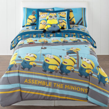 jcpenney.com | Despicable Me Industrial Minions Reversible Twin/Full Comforter + BONUS Sham