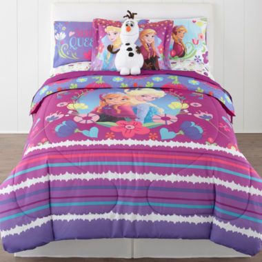 jcpenney.com | Exclusive! Disney® Frozen Nordic Summer Reversible Twin/Full Comforter + BONUS Sham