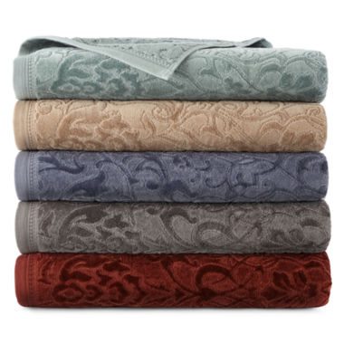 jcpenney.com | Royal Velvet® Sculpted Bath Towels