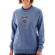 MCCC Sportswear Long-Sleeve Bear Hug Grandma Fleece Sweater
