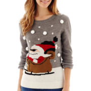 By Design Long-Sleeve Christmas Sweater