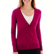 Worthington® Long-Sleeve Cardigan Sweater - Tall