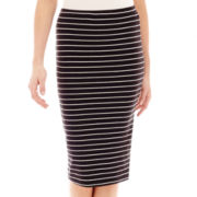 Decree® Midi Bodycon Print Skirt