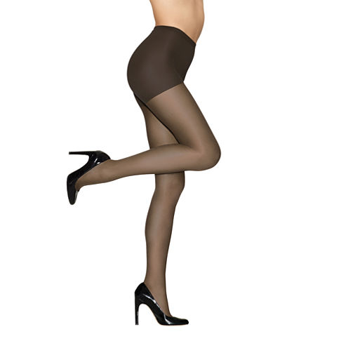 Hanes® Alive Full-Support Control-Top Reinforced Toe Pantyhose