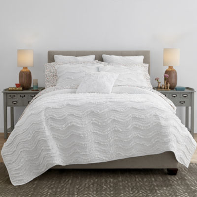 Jcpenney Home Cotton Classic Ruffle Quilt