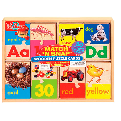 Learn Alphabet; Learn Numbers; Puzzles 3-pc. Puzzle