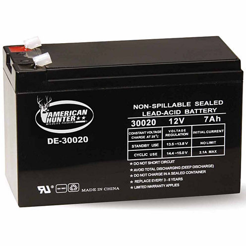 Amierican Hunter 12V 7 Amp Hr Rechargeable Battery