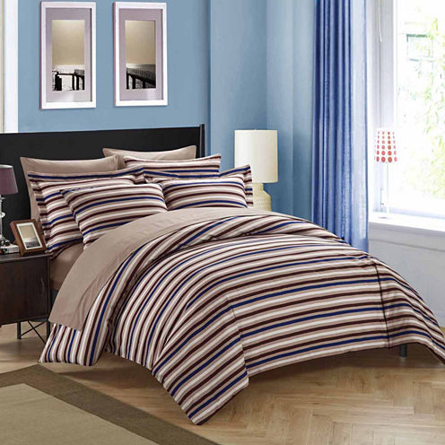 Chic Home Alyssa 3-pc. Duvet Cover Set