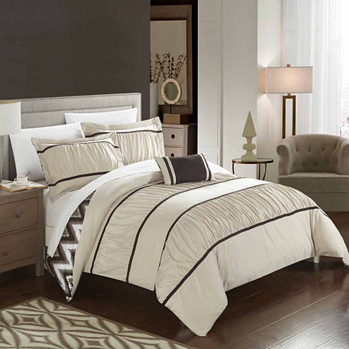 Chic Home Bella 8-pc. Midweight Reversible Comforter Set