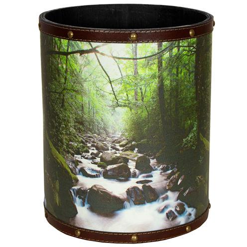 Oriental Furniture River Of Life Waste Basket