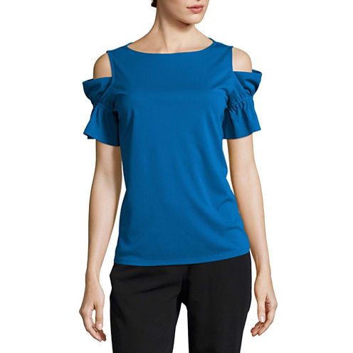 Worthington Cold Shoulder Shirt