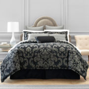 Royal Velvet® Carrington 4-pc. Comforter Set & Accessories