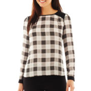 Worthington® Colorblock Blouse