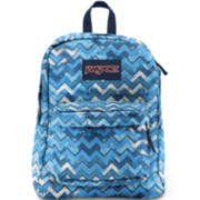 JanSport® SuperBreak Backpack - Blue Chevron