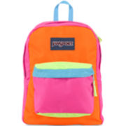 JanSport® SuperBreak Backpack - Multi-Fluorescent