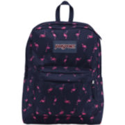 JanSport® SuperBreak Backpack - Navy Flamingo