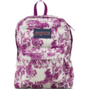 JanSport® SuperBreak Backpack - Berry Floral
