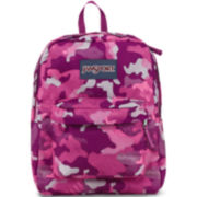 JanSport® SuperBreak Backpack - Pink Camo