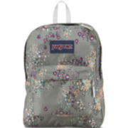 JanSport® SuperBreak Backpack - Grey Floral