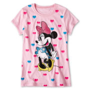 Disney Minnie Mouse So Hearty Tee - Girls 7-16