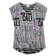 Ransom Girl™ Word Graphic Tee - Girls 7-16