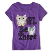 Owl Be There Tee - Girls 7-16