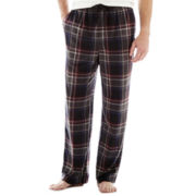 Stafford® Microfleece Sleep Pants–Big & Tall