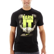 Nike® Earn It Graphic Tee