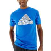 adidas® Stitch and Mesh Tee