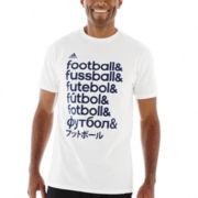 adidas® Futbol Words Tee