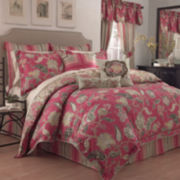 Waverly® Eastern Myth 4-pc. Reversible Floral Comforter Set & Accessories