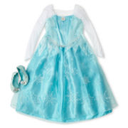 Disney Frozen Elsa Costume and Accessories – Girls 2-12