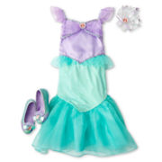 Disney Ariel Costume and Accessories – Girls 2-10