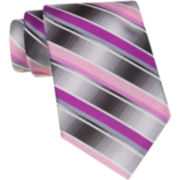 Van Heusen® Brave Striped Silk Tie