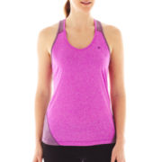 Champion Powertrain Heathered Racerback Tank Top